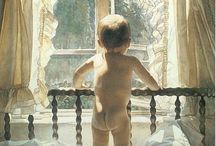 Kids--Babies & Toddlers-Various art works / by Mickey Betz