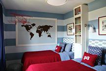 Boys Rooms / by Jennifer Winn