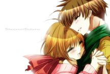 Sakura Card Captor♥ (''Shaoran & Sakura'') ♥ / My favorite anime!     J&J ●﹏● / by ♥Almendra K.V.S♥