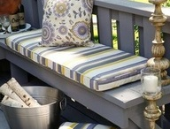 Outside Seating Areas / by Rachel Prince