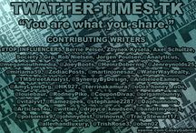 """SOCIAL MEDIA NEWS / """"You are what you share."""" / by Casey Gabriel"""
