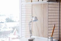 Studio . Office . Craft room / by Raquel Vasconcelos