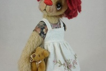 Stuffed animals / by Donna Dinsmore