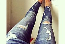jeans / by Cynthia Roberts