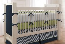 Navy Blue Nursery / by Carousel Designs