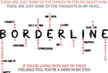 Borderline personality disorder / by Michele Vincent