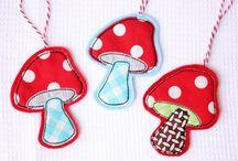 Champignon-Mushroom / by Laetitia Colori