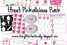 {Book Theme} Pinkalicious / by Heather Mix
