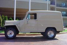 Willys Station Wagon / 1946-1964 Willys Station/Utility, Delivery Wagons / by Kaiser Willys Auto Supply