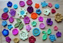 Crochet flowers and leaves / A collection of gorgeous crochet flowers - either pictures for inspiration or with instructions. / by Libby Graham-Metz