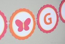 Butterfly Party / Butterfly Decorations for Baby Showers and Birthday Parties / by Pass The Scissors