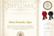 Diplomas / by Fotoefectos Efectos para Fotos