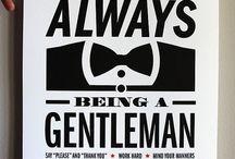 Gentleman Style / by Conrad Sak