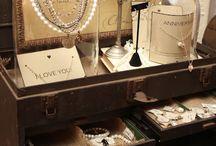 Jewelry Display and Storage / by Susan Bertrand