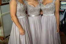Wedding Bridesmaid Ideas / Just ideas about dresses: color, style, pose. / by Maybelle Sickler