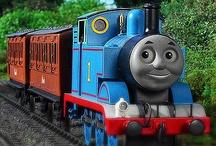 Isaac loves thomas the tank engine! He's 2! / by Wanda Dalsin