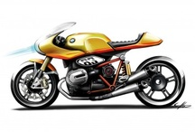Mighty Motorcycles / by Mary Goutermont Standard