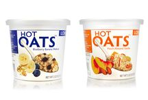 Hot Oats / Love Grown Foods Hot Oats cups make healthy eating easy, convenient, and affordable. Sweetened with a hint of brown sugar and freeze-dried fruits, each single serve cup is full of flavor, fiber, and protein - all things your body will LOVE.  Non-GMO Project Verified Certified Gluten-Free 7g protein 5g fiber 0mg sodium  / by Love Grown Foods