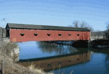 Covered Bridges / A structure of years gone by / by Jim Krotzman