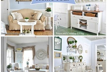 Decor: FULL HOME TOURS / by Donna - Funky Junk Interiors