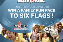 Six Flags® Sweepstakes! / Looking for a thrill? One lucky family will win the ultimate Six Flags® Experience!  Enter for your chance to win a Family Fun Pack which includes 4 general admission tickets, a Flash Pass for 4, standard family meal deal and parking! / by Rayovac