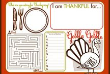 Thanksgiving Crafts & Activities / by Amy Kiefer
