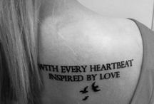 Ink is love<3 / by Ashleigh Mailander