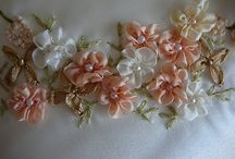 CRAFTS: Embroidery  with ribbon or thread / Embroidery  with ribbon or thread beads and other things  / by Suzi Corwith
