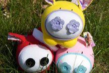 Adorable Plush Toys / by Joy