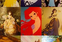 ALL THINGS DISNEY & PRINCESS :) / by Desiree Romero