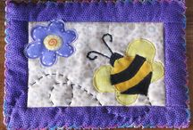 Mug Rugs / Quilted Cards / by Nancy Blazina