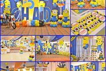 Despicable Me Minion Party Ideas / Party Ideas to decorate your Despicable Me Minion Party from our featured parties over at Seshalyn's Party Ideas. #minionpartyideas #Minionbirthdayparty #despicablemeparty / by Seshalyn's Party Ideas