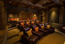 Interior Design - Theater Rooms / by MARIE Dunn