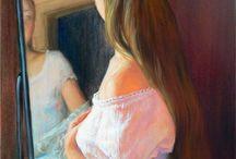 зеркала и рамы, окна и двери +++ / арт+ / by Аrina Kalina