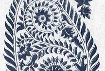 * A COLLECTION ~ Ikat, Paisley * / by Karyn G