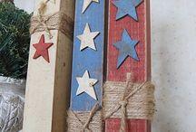 patriotic crafts / by Roberta Hagen
