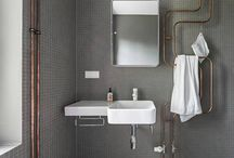 Bathrooms / bathroom ideas from Improvised Life / by Improvised Life :