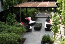 outdoor living space / by Sylvia Viles