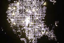 Spectacular GIFs of Flickering City Lights at Night  / by Peter Schorsch