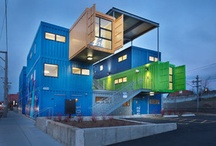 Shipping Container Homes / by Marcelle Sussman Fischler