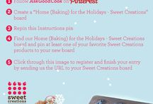 Home (Baking) for the Holidays - Sweet Creations / by Thrifty Mom's Reviews and More