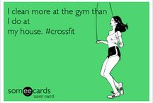 """Cross Fit / Little pieces of Awesomeness...any """"Clean and jerk"""" jokes, """"Snatch"""" references, doing """"Fran"""", all the  """"you won't shut up about Crossfit jokes""""--I LOVE THIS STUFF!-- / by Candice Gardner"""