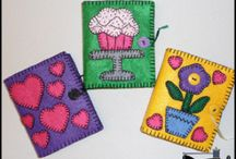 Felt Craft / fun projects with felt / by Melissa Bellis