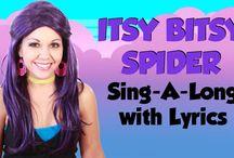 Nursery Rhymes with Lyrics Thumbnails / These are the thumbnails for my nursery rhyme videos with lyrics! / by Tea Time with Tayla