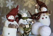 Holidays: Winter Snowmen / by Lori Pinkham