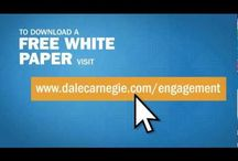 EMPLOYEE ENGAGEMENT VIDEO  / A recent Dale Carnegie research study identified the specific behaviors you need to employ to create an engaged workforce. Why should you care? Because companies with engaged employees outperform the competition by as much as 202% (Gallup) / by Dale Carnegie