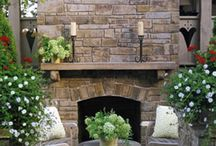 Outdoor spaces / by Sunshine & Dimples Boutique