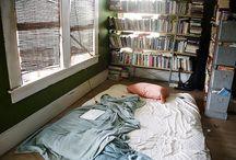 Bedroom Bookshelves / by Bookshelf Porn