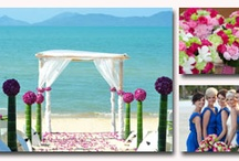 Weddings in Thailand / Thailand makes a beautiful wedding abroad destination. These are some of our favourite places to get married there. 