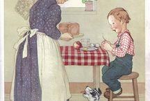 Vintage Childrens Illustrations / by guglielmina s